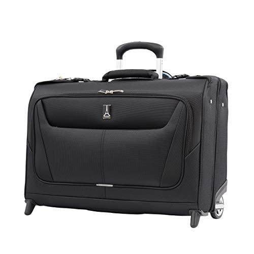 Travelpro Maxlite 5 Rolling Travel Suit Garment Bag 2 Wheels 41x56x22 cm Softside, Ultra-Lightweight and Durable 41 Litres Travel Luggage Black Colour 5 Years Warranty