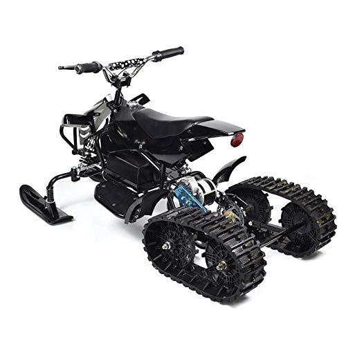Sunzy Moto de Nieve eléctrico, Moto de Nieve Tipo Oruga de la...