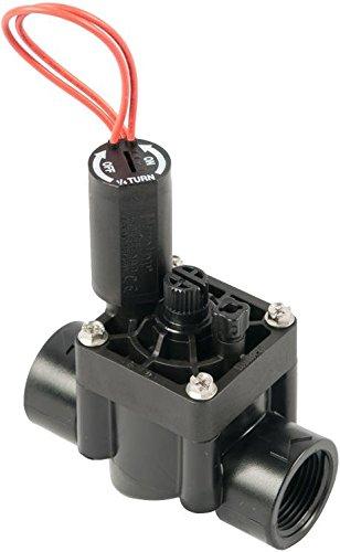 Hunter PGV-100G-B - Electroválvula de riego, 1 24v, color negro