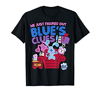 Blue s Clues & You Group Shot Just Figured Out Blue s Clues T-Shirt