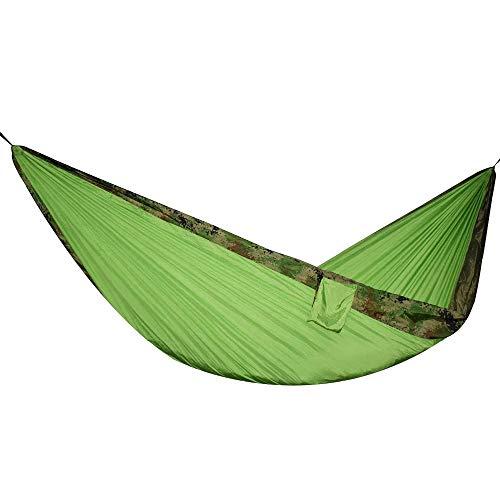 Hamaca Nueva Hamaca De Paracaídas De Camuflaje, Tienda De Campaña para Exteriores, Muebles De Jardín Hamac, Columpio Hamaca, Hamacas para Acampar