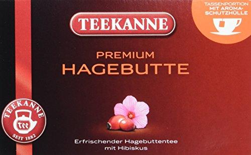 Teekanne Premium Hagebutte 20 Beutel, 5er Pack (5 x 70 g Packung)