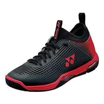 YONEX Power Cushion Eclipsion Z Men s Badminton Court Shoe  Black/Red  Size  7.5