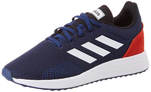 adidas Unisex-Kinder Run 70S Fitnessschuhe, Mehrfarbig (Azuosc/Ftwbla/Roalre 000), 36 EU