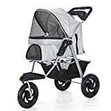MCSHGPETY Pet trolley stroller Supplies Pet Travel Stroller Dog And Cat Pet Pushchair