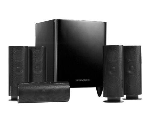 Harman Kardon 5.1 Heimkino-Lautsprechersystem mit Subwoofer, EU- und UK-Netzstecker