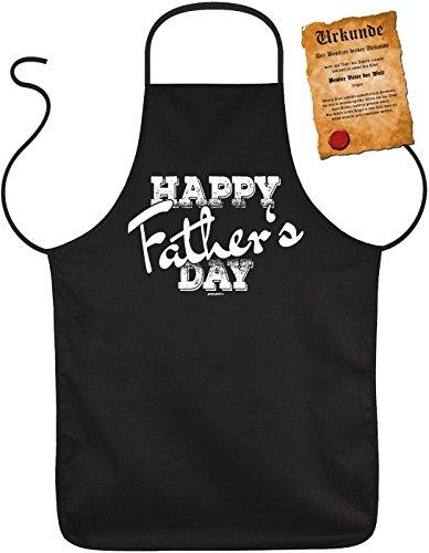 Perfect geschenk voor vaderdag barbecueschort vaderdag vader papa papa paps geschenk grill schort verjaardag - Happy Father