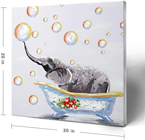 Colorful elephant paintings _image3
