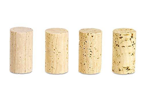 100 Stück Steril Korken 45 x 23 mm Qualität Super - Weinkorken Flaschen
