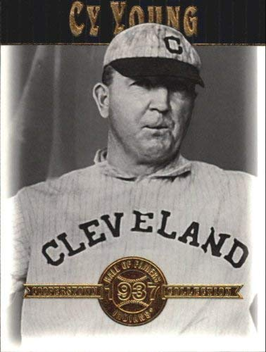 2001 Upper Deck Hall of Famers #23 Cy Young MLB Baseball Trading Card