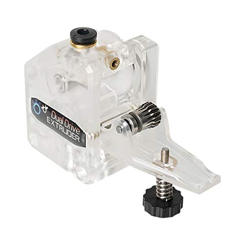 Mifive 3D Printer Accessories Transparent BMG Reduction Extruder Double Gear Universal Suitable for Suitable for CR10 TEVO MK8
