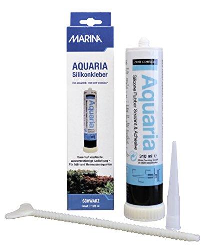 Aquaria - A11263 - Mastic silicone - Noir - 310 ml