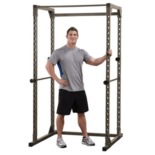 Best Fitness Power Rack BFPR100 Cage, Schwarz, One Size