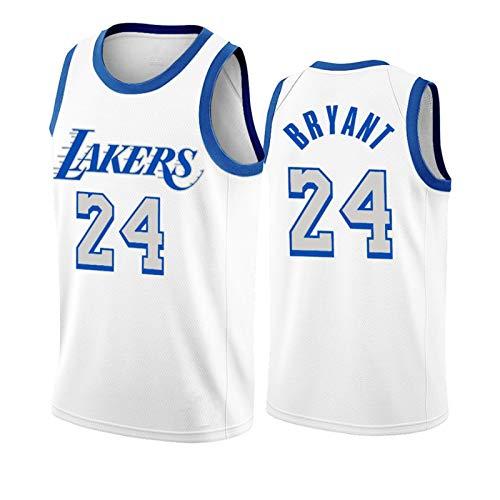 NHICR James Lakers Basketball-Trikots ärmellos Weste Tops Bryant Basketball Fan bestickt Trikots, Davis Sweatshirt atmungsaktiv Herren Sportbekleidung Outdoor Training Uniform 24-XL