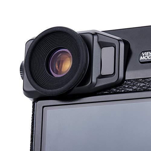JJC Weiche Silikon-Gummi-Okular-Augenmuschel für Fujifilm X-Pro2 Kamera - Passt mit Brillen-Wearers(2 Stück pro Packung)