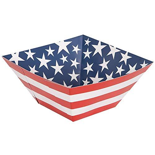Partyzubehör im Muster der US-Flagge
