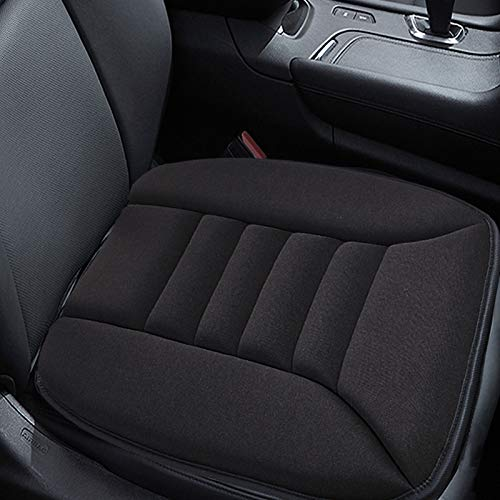 Big Ant Car Seat Cushion Pad Memory Foam Seat Cushion,Pain Relief Cushion Comfort Seat Protector for Car Office Home Use,Black 1PC