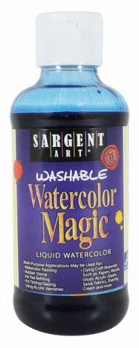 Sargent Art 22-6050 8-Ounce Watercolor Magic, Blue
