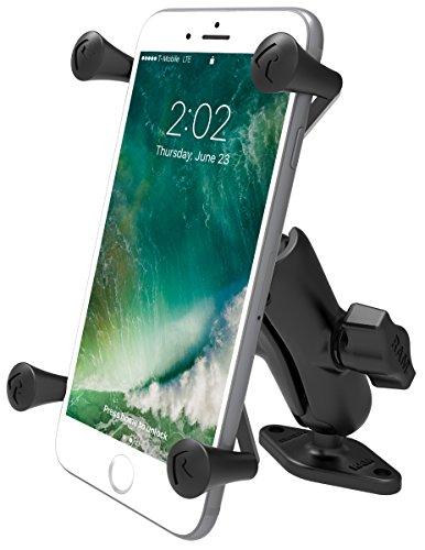 RAM Mounts X-Grip Large Phone Mount with Diamond Base RAM-B-102-UN10U with Medium Arm
