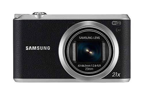 Samsung EC-WB350FBPBUS 16.3Digital Camera with 21x Optical Image Stabilized Zoom with 3-Inch...