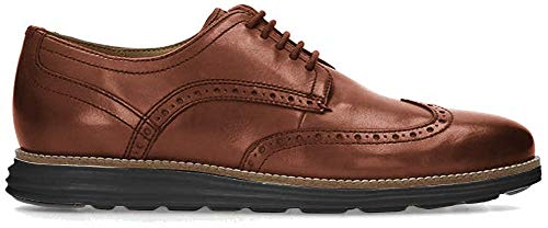 Cole Haan Men's Original Grand Shortwing Oxford, Woodbury/Java, 12 Medium US