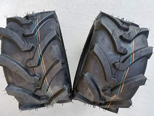 OTR LAWN TRAC Two 18X8.50-10 18X850-10 Bar Lug Tires 4 ply Rated Heavy Duty