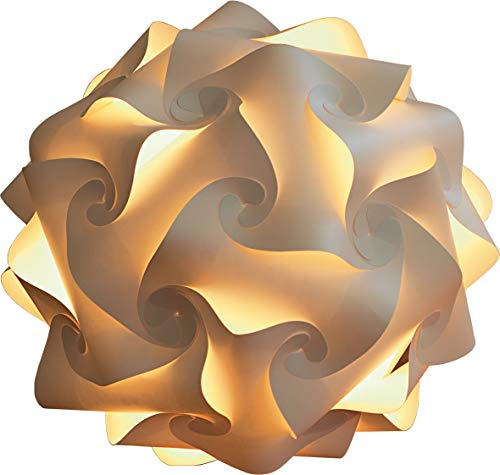 Lampenmanufaktur Oberkirch LED-Papierkugellampe Ø47 cm