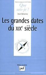 Les grandes dates du XIXe siècle de Jean Delorme