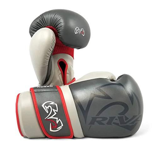 RIVAL RS80V Impluse Sparring-Handschuhe, grau, Boxhandschuhe, Boxtraining, 473 g