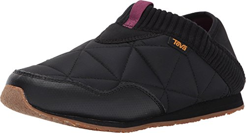 Teva Women's W Ember Moc Shoe, Black, 9 M US