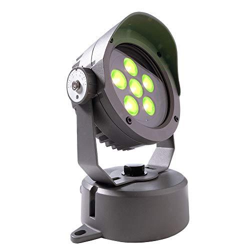 KapegoLED buitenlamp Carina LED vloer-/wand-/plafondlamp, 16,9 W, RGB, 30°, IP65, dimbaar, antraciet