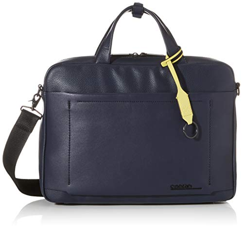 Calvin Klein Herren CK DUTY LAPTOP BAG Aktentaschen, Blackwhite Marine, OS