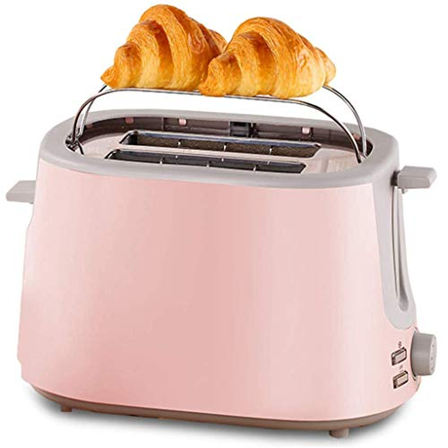 Tostadora 2 Slice Toaster, extra ancho for tostar con Ascensor Ocultos Grill, 7 Ajustes de sombra, de descongelación / recalentamiento / cancelar la función, Bagel tostador Maker for varios tipos de p