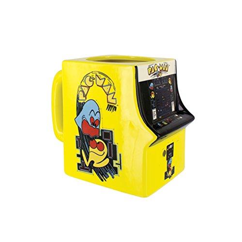 Pacman Pac-Man 3D Tasse, Keramik, Mehrfarbig, 14 x 8 x 11 cm, 2