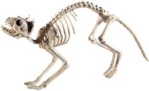 Smiffys Katzen Skelett, 60x12x25cm, 46913