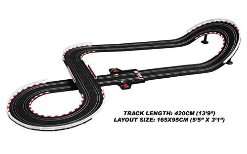 Joysway Super 251 USB Power Slot Car Racing Set