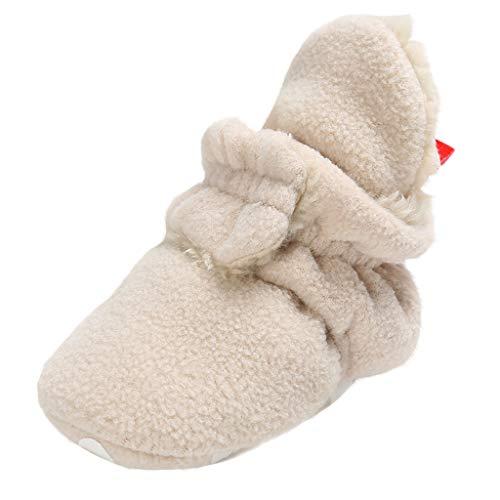 Lazzboy Baby Mädchen Pailletten Bowknot Mode Kleinkind Erste Wanderer Kind Schuhe + 1 Stück Haarband Kleinkinder Bogen Kristall Lässige Prinzessin Gr.11-13(Khaki,13)