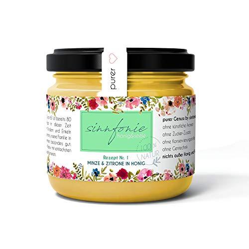sinnfonie - Frucht in Honig - ein schmackhaftes und fruchtiges Konzert der Natur (Zitrone & Minze in Honig)