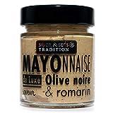 Mayonesa sabor aceituna negra y romero