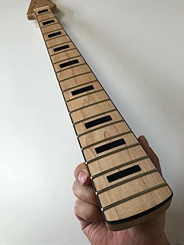 5 cuerdas bajo eléctrico guitarra cuello 20 trastes 34 pulgadas arce diapasón...
