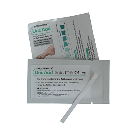 5 x GP/Professional Uric Acid Gout Urine Test Strips