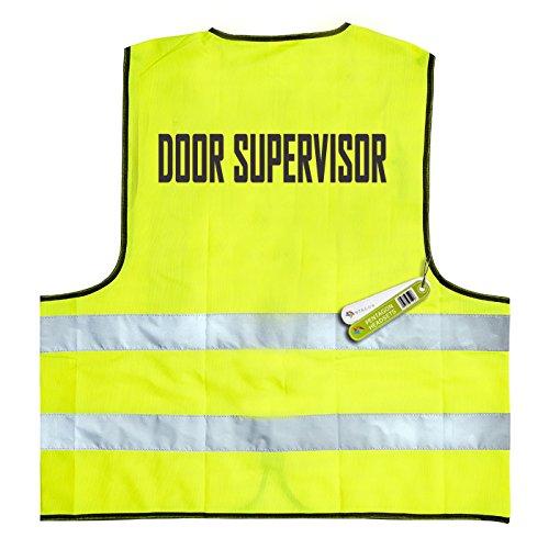 Deur Supervior - Hoge zichtbaarheid veiligheidsvest (BS EN 471 Britse standaard)