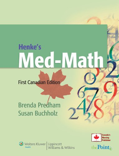 41ipW5VCnpL - Henke's Med-Math