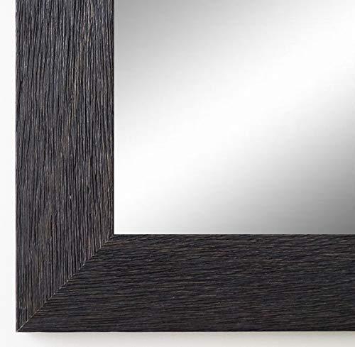 Online Galerie Bingold Spiegel Wandspiegel Badspiegel - Florenz Schwarz 4,0 - handgefertigt - 200 Größen zur Auswahl - Modern - 50 x 140 cm
