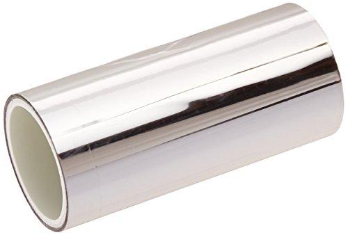 TapeCase 1, colore: argento metallizzato/4-5-MPFT pellicola di poliestere, 1/10,16 (4 x 5yds cm, colore: argento
