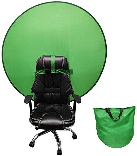 HHYSPA Backdrop Boards Photography - 2 in 1 Collapsible Reversible Background Panel Green Blue Backdrop Background Screen Portable 4.65ft,for Photo Video Studio Green