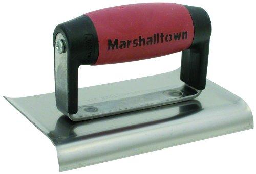 Marshalltown M136D 6x3-inch Cement Edger - Durasoft Handle