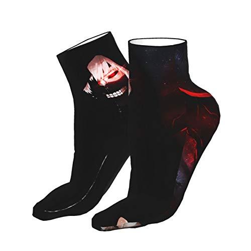 Calcetines de anime Tokyo Ghoul para hombres y mujeres