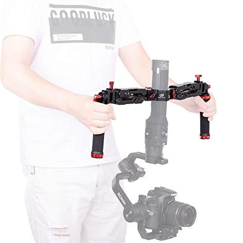 Digitalfoto Ares Z Axis Spring Griff mit doppelter Dämpfung, flexibel, abnehmbar, Dual-Grip, kompatibel mit ZHIYUN Crane 2 / Plus / V2 MOZA FEIYU Dji Ronin S 3 Achsen Gimbal