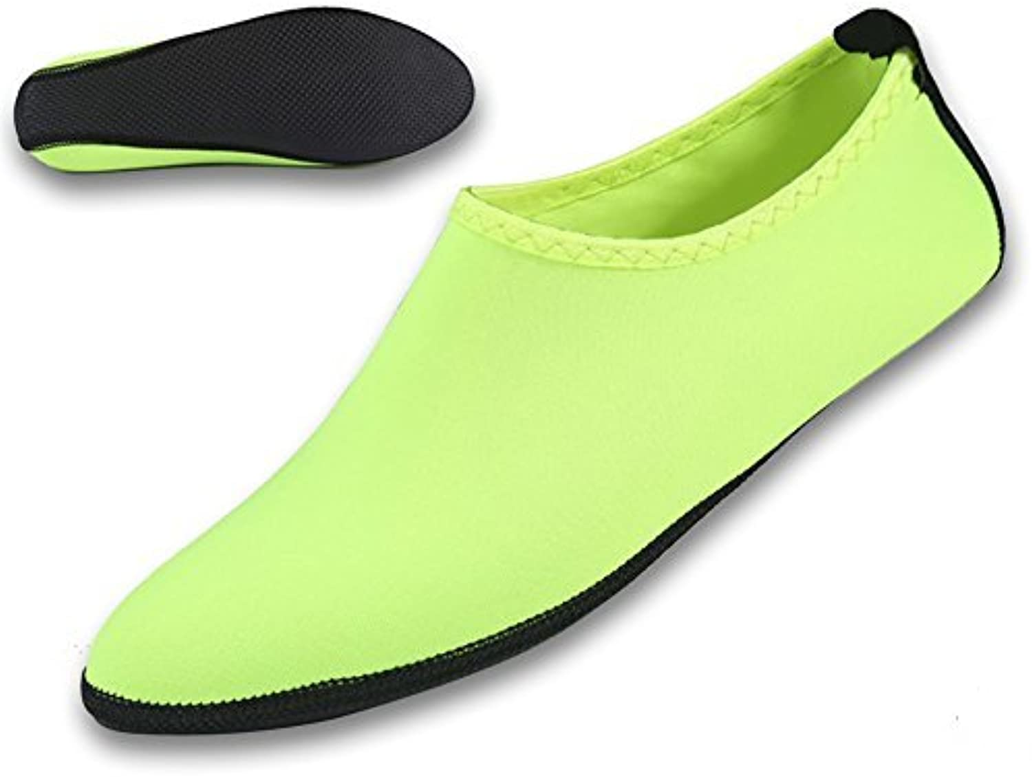 Gohom Women's Long Fur Curly Slip-On Slippers Indoor shoes